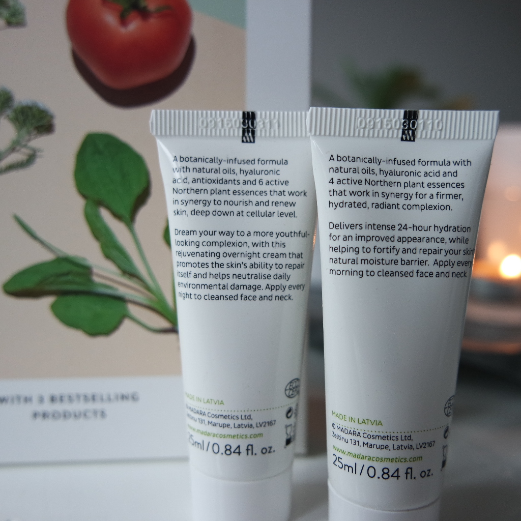 Mádara become organic day and night cream