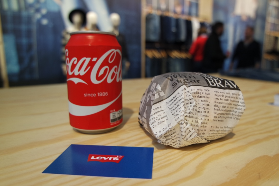levi's food coca-cola modefabriek 2016