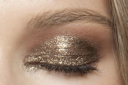 make-up trends lente 2016 glitters