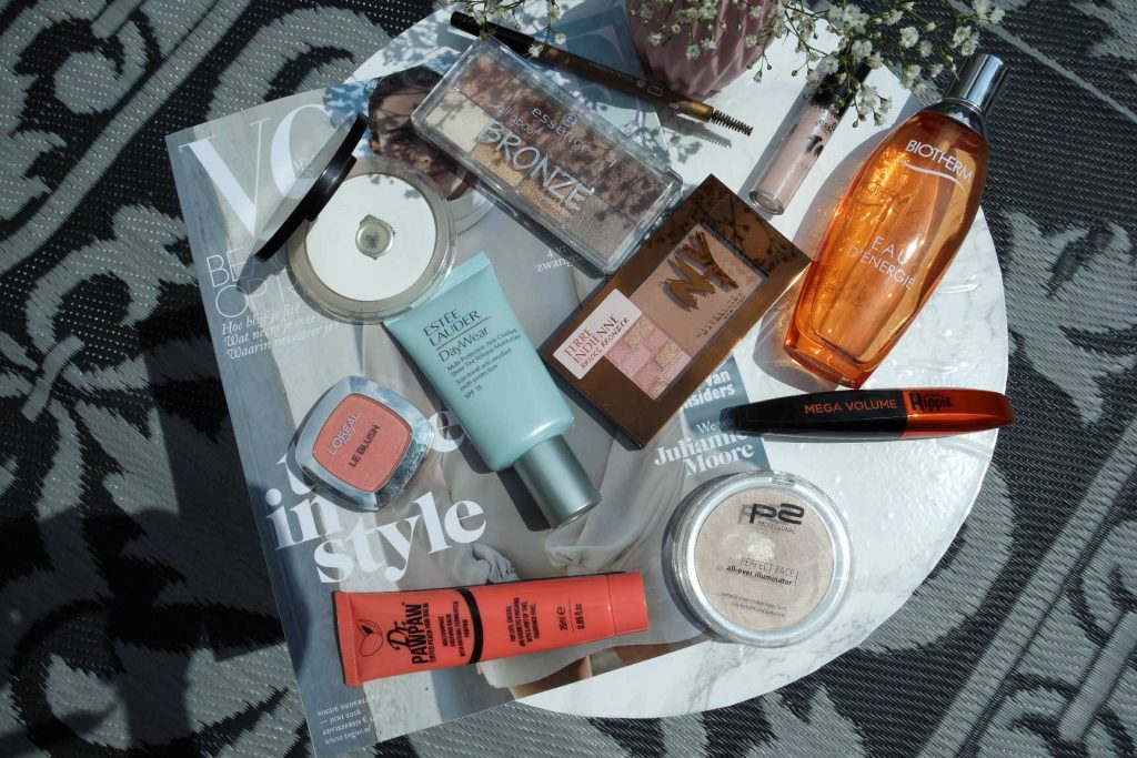 zomerse look make-up