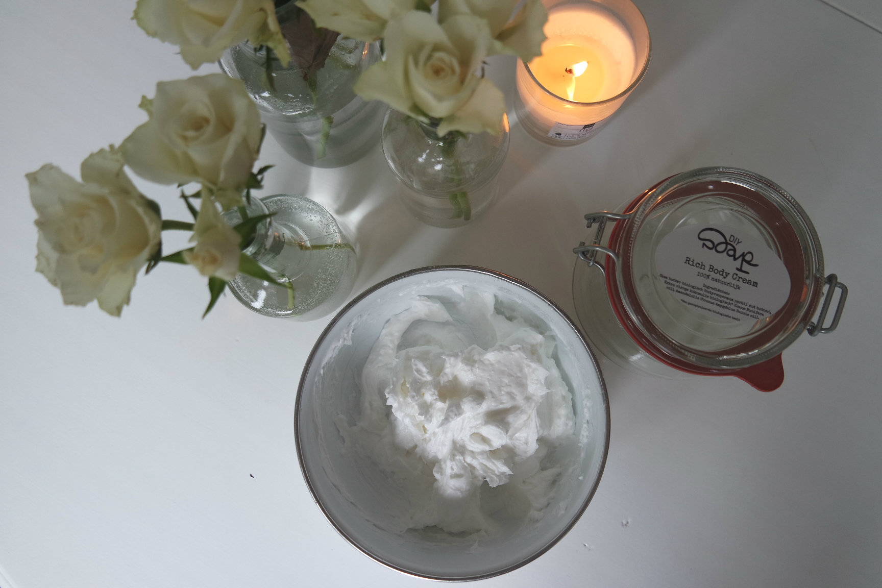 DIY Soap Rich Body Cream